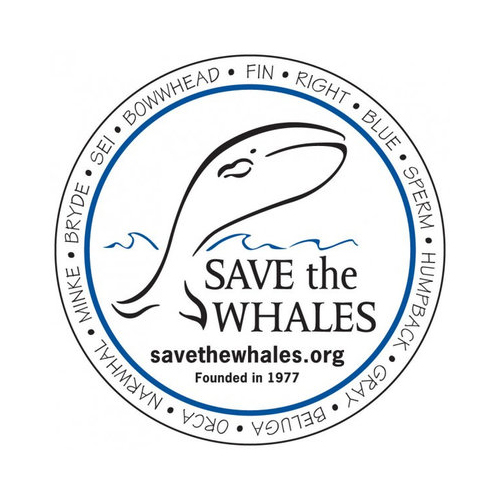 Save the Whales Badge